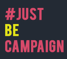 Unsung lilly Just Be Campaign logo
