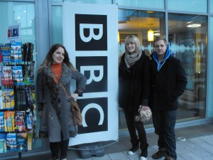 Unsung Lilly at BBC Merseyside